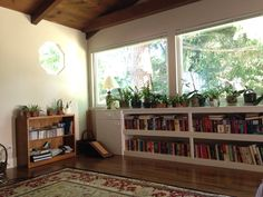 Books and wooden floors