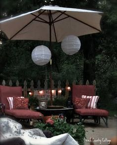 this is kmart with a french cottage twist outdoor living areas makeover, home decor, outdoor living
