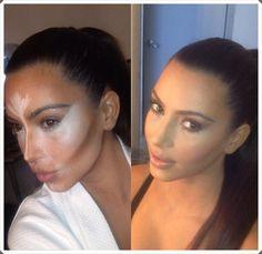 Kim kar makeup