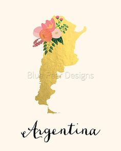 Argentina Map, Printable Maps, Country Maps, Photo Printing Services, Photo Printer, Map Art, Online Printing, Giclee Print, Fine Art