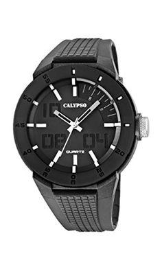 Calypso watches Herren-Armbanduhr XL K5629 Analog Quarz Plastik K5629/1 - http://autowerkzeugekaufen.de/calypso/calypso-watches-herren-armbanduhr-xl-k5629-quarz