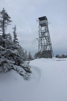 Blue Mt fire tower..Blue Mountain lake,NY