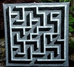 Looking for your next project? You're going to love 3D Maze Quilt #13 37