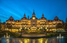Disneyland Hotel Paris    #Disney #disneylandparis #disneystyle #disneyside #paris
