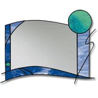 Free Pattern, Abstract Mirror