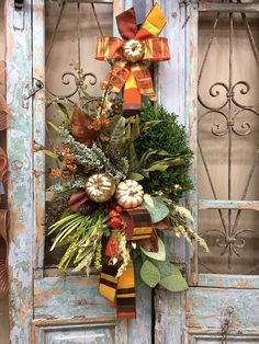 Excited to share this item from my shop: Fall Wreath, Pumpkin Wreath, Thanksgiving Wreath Thanksgiving Wreaths, Autumn Wreaths, Holiday Wreaths, Wreath Fall, Grapevine Wreath, Holiday Fun, Easy Fall Crafts, Diy And Crafts, Halloween Door Decorations