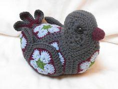 Ravelry: Project Gallery for Bluebird of Happiness African Flower Crochet Pattern pattern by Heidi Bears