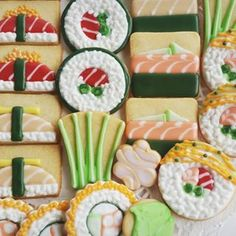 Super Cute Sushi Cookies