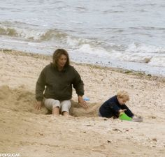 Exclusive Pictures: Prince George Celebrated His Birthday at the Beach!