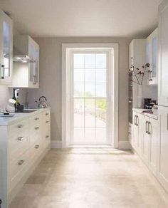 Small Kitchen Designs....loving all the sunlight
