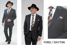 FORD / DAYTON | Seroussi -producător și distribuitor de costume bărbătești Suit Jacket, Ford, Costumes, Suits, Table, Jackets, Fashion, Down Jackets, Moda