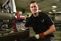 """Walton and Modert work for a world-renowned auto shop, Rad Rides by Troy, Inc. in Manteno, where they specialize in hand-crafted automobiles. Owner Troy Trepanier and the entire team say """"the only thing keeping up with your attitude is your shadow."""""""