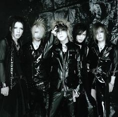 The GazettE; one of my other favourite Japanese bands. They're visual kei, so.. yeah!