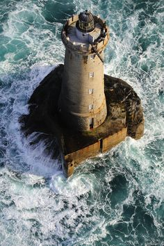 I would be interested to have seen them build a lighthouse like this.