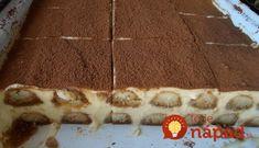Kuhinja i ideje: Tiramisu (original recept) - Sav je pjenast ! Bosnian Recipes, Croatian Recipes, Bakery Recipes, Dessert Recipes, Cooking Recipes, Tiramisu Original, Cake Slicer, Torte Recipe, Kolaci I Torte