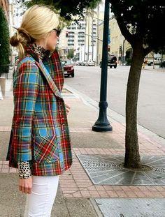 Trendy Plaid Coats Glamsugar.com plaid coat