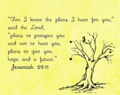 Jeremiah 29:11 Free Printable by Cheng and 3 Kids #free #freeprintable #bibleverse #faith #bible