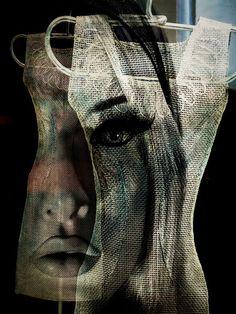 'Behind the dress' von Gabi Hampe bei artflakes.com als Poster oder Kunstdruck $23.56