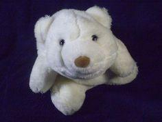 """Gund White Snuffles Polar Bear Plush 015164 Stuffed Teddy Baby Cub 8"""" Toy"""