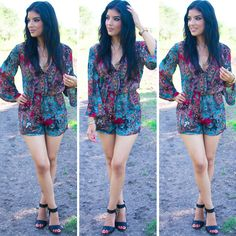 Bohemian Romper! Butterick 6204, with modifications. - Rosy   Peña