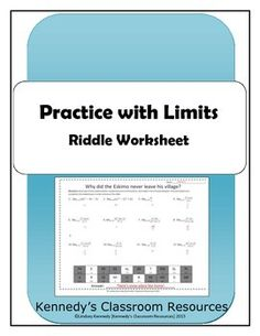 Printables Evaluating Limits Worksheet evaluating trig expressions with sum and difference formulas in this riddle worksheet students will practice the limits of functions as x approaches