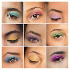 NYX Professional Makeup Ultimate Eyeshadow Palette - image 3 of 4 Pastel Eyeshadow, Eyeshadow Looks, Eyeshadow Palette, Nyx Eyeshadow, Eyeshadow Ideas, Colorful Eyeshadow, Nyx Brights Palette, Asian Makeup Tutorials, Makeup Ideas