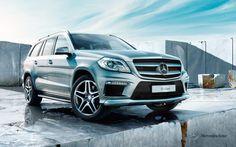 Mercedes-Benz GL-Class. Fuel consumption combined: 12,3-7,4 l/100km, CO2 emissions combined: 288-192 g/km. #MBCars