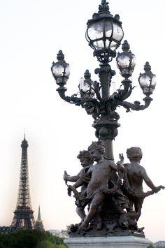 Paris: Lampposts and Street Lights Paris France, Oh Paris, I Love Paris, Paris City, Paris Street, Gustave Eiffel, Beautiful Paris, Beautiful World, Tour Eiffel