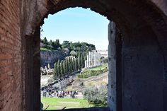 Forum Romanum Via Sacra Kolosseum Colosseo Citytrip Rom Italien