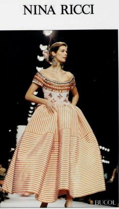 1992 NINA RICCI. Anna Miccadei · Abiti donna e120b84a815