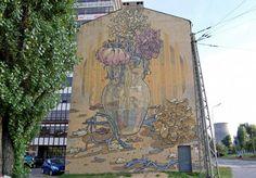 STREET ART UTOPIA » We declare the world as our canvas2 Galeria Urban Art Forms in Lodz, Poland. By Aryz 2 » STREET ART UTOPIA