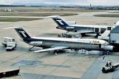 TAA McDonnell Douglas DC-9-31 (VH-TJK) Mcdonald Douglas, Pacific Airlines, Australian Airlines, Domestic Airlines, Australia Travel, Vic Australia, Road Train, International Airport, Old Trucks