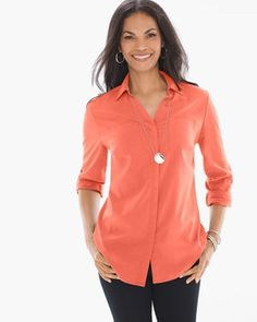 Chico's | Silky Soft Relaxed Shirt