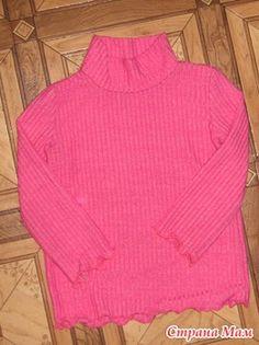 Выкройка детской водолазки (майки, футболки), р-р 86, 92, 98, 104