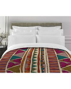 "Valentina Ramos by DENY Designs ""Ethnic Stripes"" Duvet on @Rue La La $130-$150"