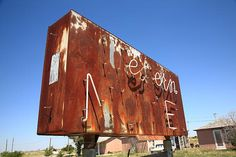 "Route 66 - Western Motel Neon, San Jon, New Mexico. ""The Fine Art Photography of Frank Romeo."""