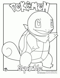 Pokemon Coloring Pages Of Blastoise Through The Thousand