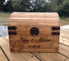 EXTRA Large Rustic Wooden Card Box  Rustic by CountryBarnBabe, $80.00