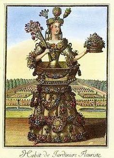 Nicolas de Larmessin: 'The Florist'