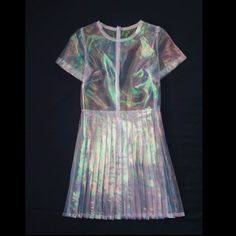 Clear Iridescent Dress by michaelbrambila on Etsy