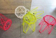 resin stools via Studios Besau Marguerre