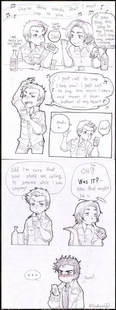 Dean just called to say, he loves you. Kay I don't ship destiel but this is hilarious!<<< every time someone doesnt ship destiel i have to change this note thing I SHIP DESTIEL!!!!!!