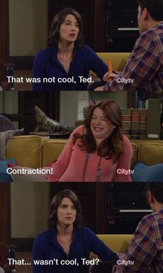 definitely rewound the show to laugh at this one twice. i love a good grammar joke. Love How I Met Your Mother Grammar Jokes, Good Grammar, How I Met Your Mother, Best Tv, The Best, Himym, Fandoms, I Meet You, Film Serie