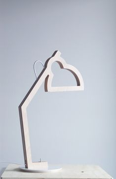 LYSA - Plywood lamp - Led - Design Julie Gasiglia