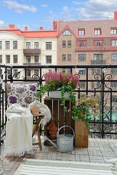 Balcones con encanto. Bemydeco