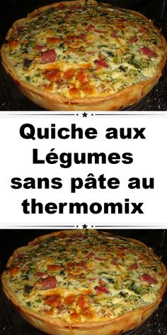 Healthy Chicken Recipes 48874 Vegetable Quiche without dough with thermomix. Here is a delicious recipe of Vegetable Quiche without dough, easy and simple to make with the thermomix. Vegetarian Recipes Videos, High Protein Vegetarian Recipes, Vegetarian Crockpot Recipes, Healthy Chicken Recipes, Beef Recipes, Lentil Recipes, Vegetarian Nuggets, Vegetarian Breakfast, Easy Recipes