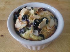Suzanne's Kitchen : Baked blueberry almond oatmeal Simply Filling + 1 sp
