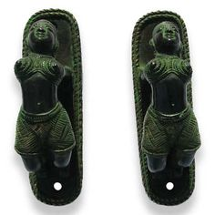 INDIAN YOGA BRASS DOOR HANDLE PULLS  Ethnic India Decor