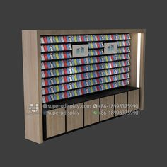 Custom Wood Mobile Phone Case Display Stand with Storage for Retail Shop, Store Display Design Manufacturer Suppliers Display Shop, Retail Display Shelves, Display Design, Retail Store Design, Retail Shop, Mobile Shop Design, Mobile Phone Shops, Diy Shoe Storage, Store Layout