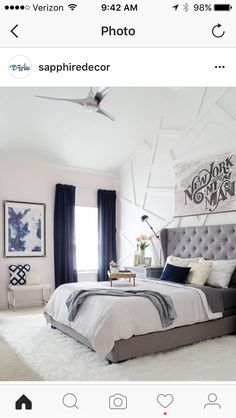 Navy And White Bedroom Ideas 220764